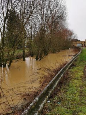 Ruisseau du Pillon Février 2021